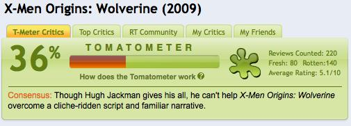 RottenTomatoes and Metacritic quantify film criticism, let's beat them at their own game.