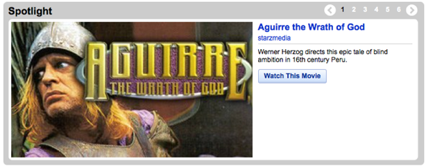 YouTube's movie selection is still mostly pitiful, but it houses some classics.
