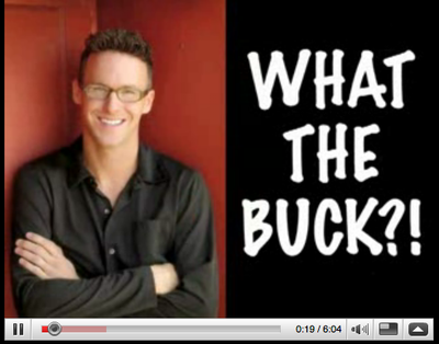 "Michael Buckley and his popular YouTube show, ""What the Buck"""