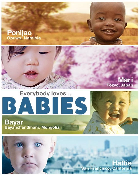a review of babies a movie by thomas balmes Babies, directed by thomas balmes, france, 2010 infant observers and people who share a sustained sense of wonder and interest in the unfolding development of babies, will find the 2010 film babies a delight.