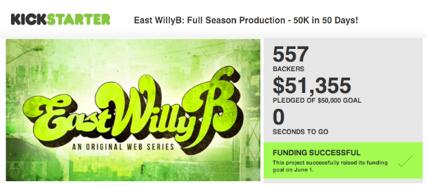east-willyb-kickstarter-web-series