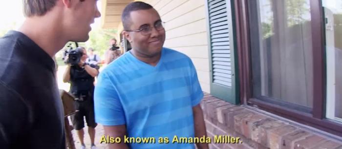 catfish amanda miller and tyler black gay teen